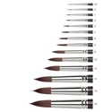 Galeria Short Handle - Round Brushes for Acrylic or Oils