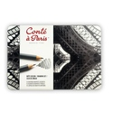 Conte a Paris Drawing Set (12 Assorted Graphite Pencils)
