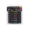 Winsor & Newton BrushmMarker Sets of 12 BrushMarkers