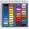 Sennelier 40 Assorted Extra Soft Pastels - Half Stick Size
