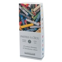 Sennelier 12 Assorted Extra Soft Pastels - Standard Stick Size