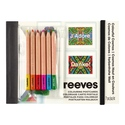 Reeves Colouring Postcards- Colourful Cosmos