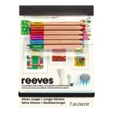 Reeves Colouring Postcards- Urban Jungle