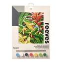 Tree Frog - Reeves Paint By Numbers