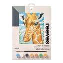 Giraffe - Reeves Paint By Numbers