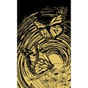 Butterfly - Reeves Mini Scraperfoil Gold