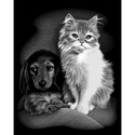 Pet Friends - Reeves Medium Scraperfoil Silver