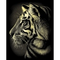 Tiger - Reeves Medium Scraperfoil Gold