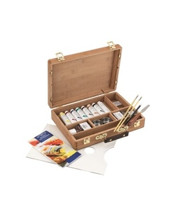 Winsor & Newton Artists Oil Bamboo Box Set