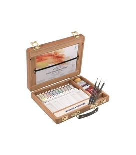 Winsor & Newton Artists' Water Colour 5ml Tube Bamboo Box Set
