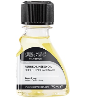 Winsor & Newton Refined Linseed Oil Medium - 75ml