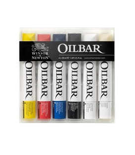 Winsor & Newton Oil Bar 6 Colour Set