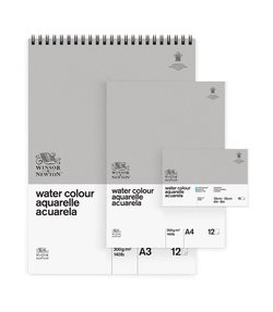 Winsor & Newton Watercolour Classic Pads - Spiral