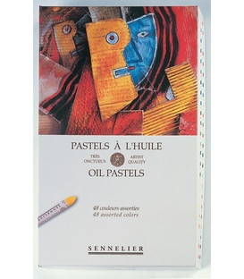 Sennelier 48 Assorted Oil Pastel Set