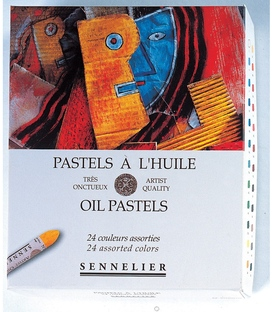 Sennelier 24 Assorted Oil Pastel Set