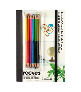 Reeves Colour By Numbers -Travellers Tales