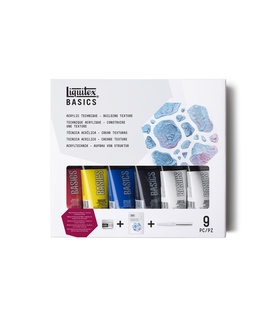 Liquitex Basics Technique Set Building Texture