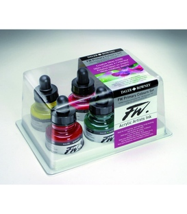 Daler Rowney FW Primary Colour Ink Set