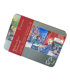 Hahnemühle Watercolour Postcard tin set