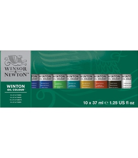 Winton 10 x 37ml Oil Colour Tube Set