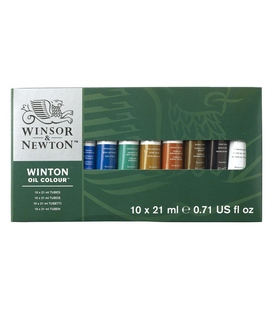 Winsor & Newton Winton 21ml Oil Colour Tube (Set of 10)…