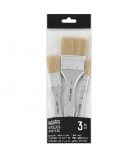 Liquitex Basics Brush 3 Hog Spalters
