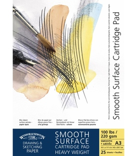 Winsor & Newton Smooth Surface Pads - Heavy Weight 220gsm